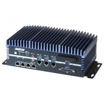 Fanless Embedded Box PC, LAN x 3, PoE x4, USB 3.0 x 6, USB 2.0 x 2, RS232/422/485 x 6, HDMI x 2, VGA