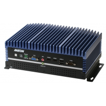 Fanless Embedded Box PC, LAN x 9, USB 3.0 x 8, USB 2.0 x 2, RS232/422/485 x 1, HDMI x 2, VGA x 1