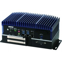 Fanless Embedded Box PC, LAN x 3, USB 3.0 x 6, USB 2.0 x 2, RS232/422/485 x 6, HDMI x 2, VGA x 1