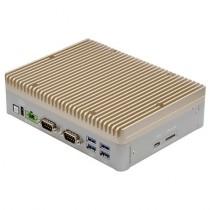 Embedded BOX-PC Fanless.Nvidia TX2.8G RAM.32G eMMC.4xUSB3.0.1xGbE LAN.4xPoE LAN. 2xHDMI.DC 10~24V