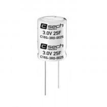 C16S-3R0-0025 Ultracap SECH 3.0V 25F Radial Terminal