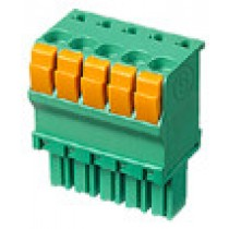PC-Federleiste, gerade, 05 pol., RM 3.5mm
