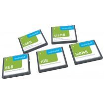 Industrial Compact Flash Card, C-500, 8 GB, SLC Flash, 0°C to +70°C