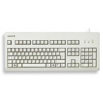 CHERRY Keyboard USB+PS/2 hellgrau DE Layout