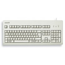 CHERRY Keyboard USB+PS/2 hellgrau US/€ Layout