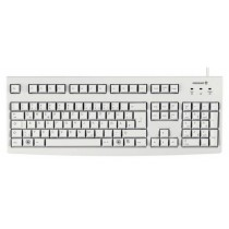 CHERRY Keyboard USB hellgrau 104 Keys US/€ Layout
