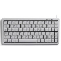CHERRY Keyboard COMPACT USB+PS/2 hellgrau DE Layout o.WIN Keys