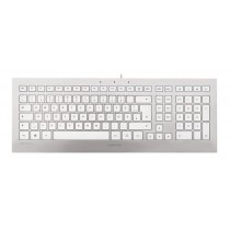 CHERRY Keyboard STRAIT 3.0 USB silver/white CH Layout