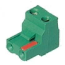 PC-Schraubklemme, anreihbar, 03 pol., RM 7.62mm