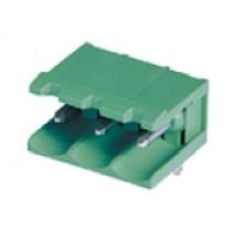 PC-Stiftleiste, abgew. anreih., 02 pol., RM 5.00mm