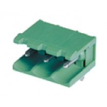 PC-Stiftleiste, abgew. anreih., 13 pol., RM 5.08mm