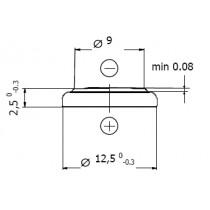 Lithium-Batterie 3V/48mAh Einzelblister