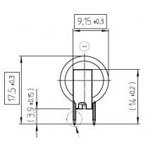 Lithium-Batterie 3V/48mAh