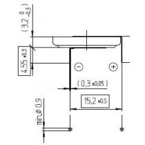 Lithium-Batterie 3V/225mAh Bulk