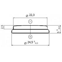 Lithium-Batterie 3V/540mAh, Bulk