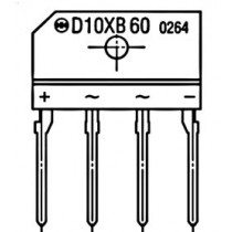 Bridge Diode 800V 10A Pack.3S SIP Sn-Bi