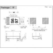 Schottky IO=1.1A VRM=60V 1F