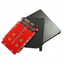 SATA to 2x M.2 RAID Card
