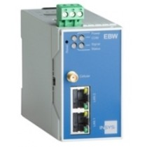 Industrial router;  2G/GSM: Quadband, CSD, GPRS Class 12, EDGE Class 12; 3G (UMTS/HSPA)