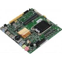 Mini-ITX Q170B,6th gen.,2DP,2xGbE,xCOM,10xUSB,4xSATA3,2xM.2,PCIe[x4],12VDC