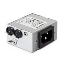 IEC High Performance 250VAC, 6A, Faston, Rear Mounting