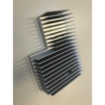 Heatsink Kit for OXY5362, Copper plate 45.87x37x3.1mm + Alu Heat Sink