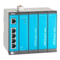 LAN-LAN Router, 5 LAN ports, 2 digital inputs, 3 MRX Slots