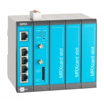 Cellular Router 4G/3G/2G, 5 LAN ports, 2 digital inputs, 3 MRX Slots
