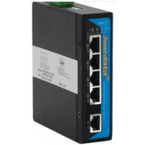 3onedata PoE Switch 1 port Gb Eth.,4 ports PoE 10/100/1000M unmanaged,-40+75C,48VDC