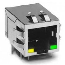 RJ45 Single Port 10/100 Base-T Tab-down