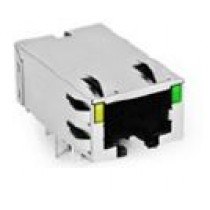 Through Hole 1X1 Tab down 10GBase-T RJ45