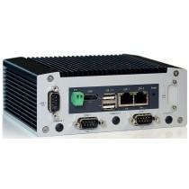 Box-PC Intel Atom E3845 4x1.91GHz, 4GB DDR3L ECC, 16GB SSD, 2xCOM, 2xGB-LAN, WLAN