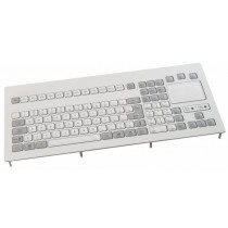 Keyboard with Touchpad IP65 panel-mount PS/2 German-Layout
