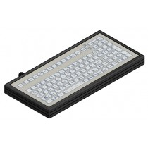 Keyboard IP67 enclosed USB German-Layout