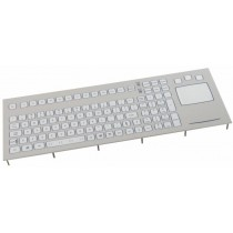 Keyboard with Touchpad IP67 panel-mount USB German-Layout