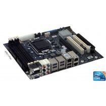 KTQ77/FLEX Board, i5-3550S, 1x4GB DDR3, Cooler, customer Set