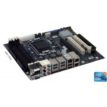 KTQ77/FLEX 3x GB LAN,  Gen 3.0 PCIe x16 & PCIe x4 & 2 x PCI 32bits/33MHz
