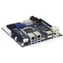mITX Board Q87 Chipset,i7-4770,3x DP,2xDDR3L,2xGb LAN,1xmPCIe,1xmSATA,Cooljag fan