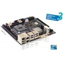 KTQM77/mITX Board QM77, i5-3610, 4GB DDR3, Cooler, Set