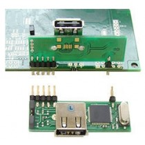 USB Memory stick adaptor for mounting on TFT modul