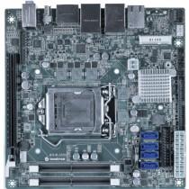 mITX ind. Motherboard 6th Gen. Intel CPU's, C236 Chipset, 2xDDR4 Sockets