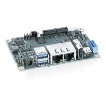 pITX-APL V2.0 with Intel Atom® E3930 2 Core; 2 GByte LPDDR4; 1.8 GHz; 6,5 W TDP
