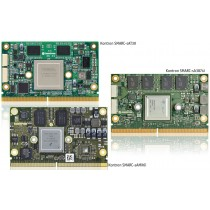 SMARC with Freescale i.MX6 Dual, 800MHz dual core,  1GB DRAM, 4GB Flash, ind. temp.,SATA