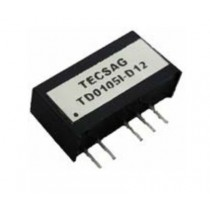 DC/DC 1W Fixed Input 5V single Out 5V 3kVDC Isol -25..+70C SMD