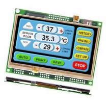"TFT Module iSMART 4.3"", RS232, RS485, Res.Touch, USB,Linux"