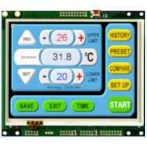 "TFT Module 4.3"" 640x480 ARM9 454MHz, 256MB RAM, 4G eMMC MPCT touch"