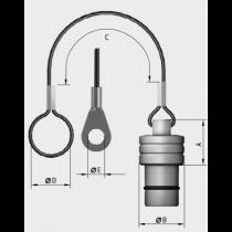 MINI-SNAP Baugr.1, Schutzkappe f.Geräteteil