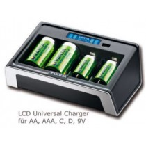 Universal Charger für AAA/AA/C/D/9V