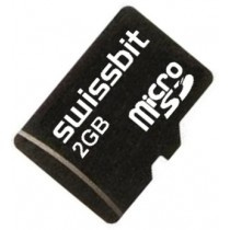 2GB Micro Secure Digital Card S-200u SLC, extended Temp -25 ..+85C