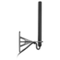 Antenna Outdoor WLAN 2,4 GHz, height 27 cm, 2.5 m cable, rev. SMA (m), IP54, wall mounting